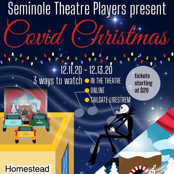 COVID Christmas Flyer