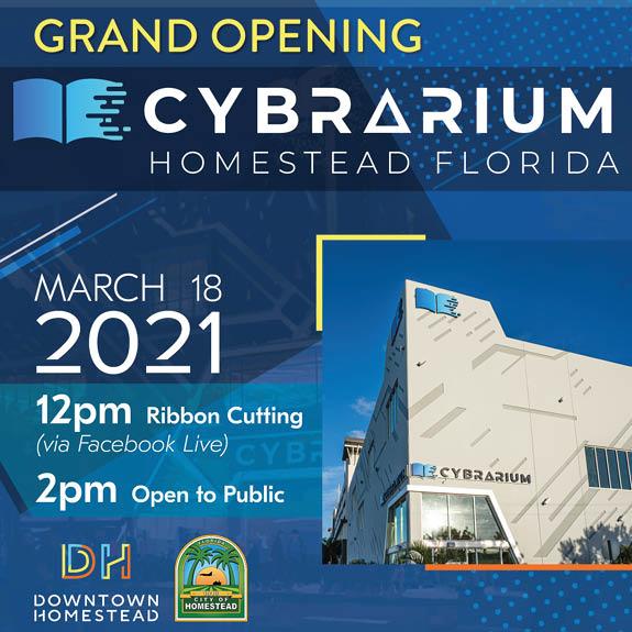 Cybrarium Grand Opening Invitation
